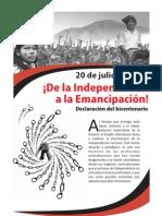Declaracion Bicentenario Colombia