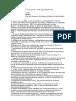 Resolução SE 52, de 9-8-2011