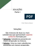 Slides Solubilidade / Curva de Solubilidade - Aprov