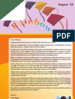 Newleter Rainbow_ August