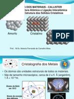 Sist.s e Estr.s Cristalinas- 2