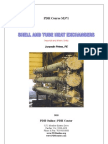 Shell and Tube Heat Exchangers - Basic Calculations