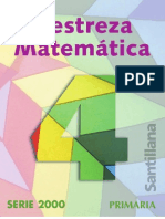 Destreza matematica