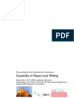 Durability of Paper and Writing