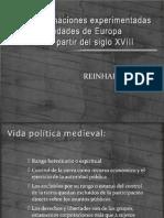 Las Trasformaciones Experimentadas Por Las Sociedades de Europa - Bendix Cap III