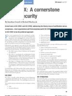 Gossels Mackey - IsO 2700X - A Cornerstone of True Security