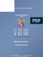 ICM Handbook Management Studies