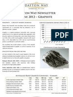 Dayton Way Newsletter - June 2012 - Graphite
