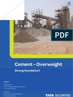 Cement Sector