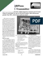 AZSX 303E Transmitter
