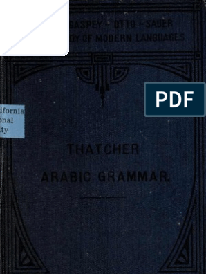 Arabic Grammar   Verb   Arabic