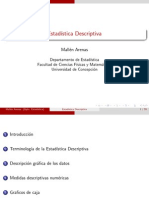 Clase 01 - Estadística Descriptiva