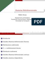 Clase 06 - Variables Aleatorias Multidimensionales