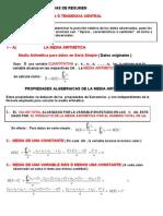 Material de Estudio ( Estadígrafos de Posición y Dispersión )  Civil 1-2012