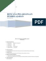 Rencana Pelaksanaan Pembelajaran Pbl - Rangkaian Hambatan