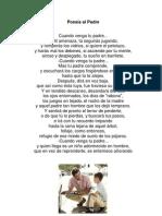Poesía al Padre