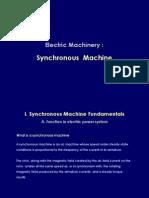 11 Synchronous Machine (Week 11)
