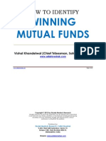 How to Identify Winning Mutual Funds (Safal Niveshak)