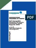 2005 Rapporto Immigrazione Veneto