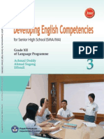 Kelas 3 Sma Eveloping English Competencies Achmad Doddy