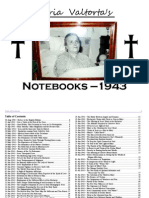 Divine Dictations to Maria Valtorta (1943 Notebooks)