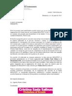 Carta Concierto Molotov