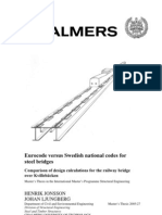 Design Girder Bridge Eurocode