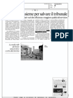Il Messaggero Umbria - 16 giugno 2012