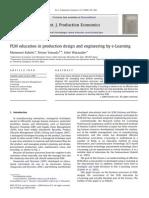 PLM Educationinproductiondesignandengineeringbye Learning