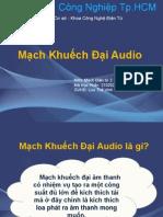 MẠch công suất Audio