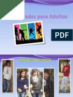 Actividades Para Jovens