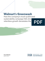 Walmart Greenwash Report