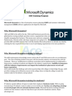 Microsoft Dynamics Training Program (1)