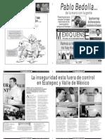 Versión impresa del periódico El mexiquense 18 junio 2012