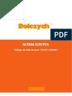 Norma Eslingas de Cable de Acero 13414-1-2004A1
