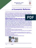 Ultimate Economic Reforms
