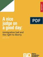 A Good Judge Report