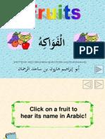 Arabic Fruits