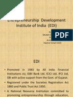 Entrepreneur Development Institute (EDI)