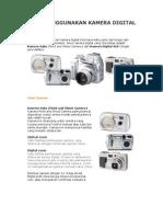 Cara Menggunakan Kamera Digital
