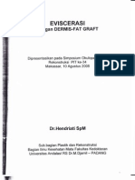 Eviscerasi Dengan Dermis-Fat Graft