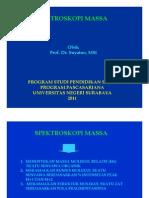 Spektroskopi Massa