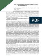 Interesul  NaŢIONAL CA MECANISM AL POLITICII EXTERNE A STATULUI  IN TRANSFORMARE
