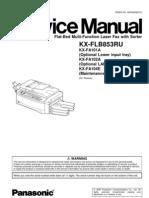 Panasonic KX-FLB853 Service Manual