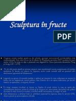 Sculptura în fructe