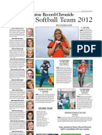 All-Area Softball 2012