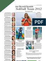 All-Area Softball 2012
