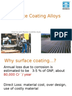 Surface Coating Alloys