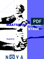 Mas Stage Boek 1112