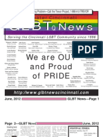 GLBT News June 2012 Greater Cincinnati Pride Edition